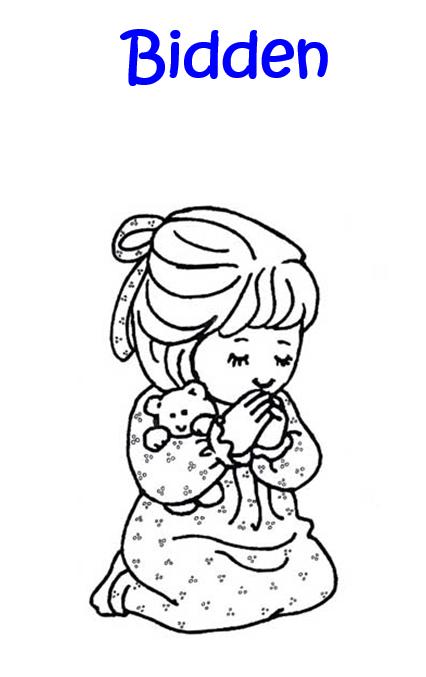 Spiksplinternieuw Serie bidden met kinderen boekjes EO-18